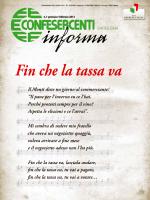 Confesercenti Informa 01 2013